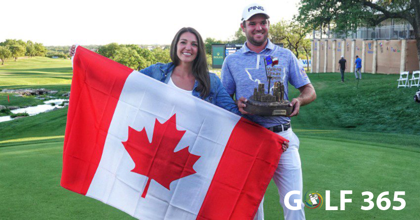 Canadian Corey Conners wins Valero Texas Open